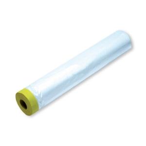 Пленка с малярной лентой для безвоздушной покраски до 90 ℃