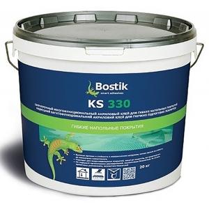 Клей для линолеума и других покрытий Bostik KS 330, 20 кг