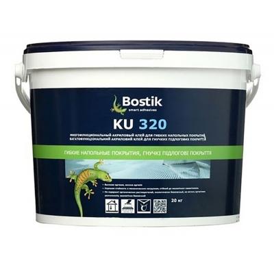 Клей для линолеума и других покрытий Bostik KU 320, 20 кг