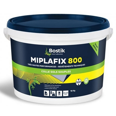 Клей-фиксатор для гибких напольных покрытий Bostik Miplafix 800, 18 кг