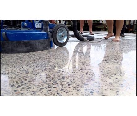 Полированный бетон – покрытие XXI века