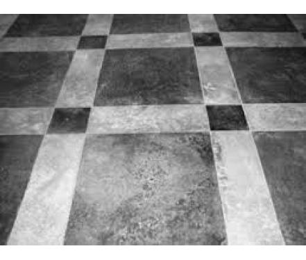 Варианты изготовления декоративных и износостойких полированных бетонных полов