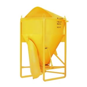 Бункер для бетона туфелька ББМП-1,5