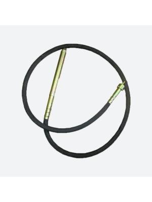 Валы гибкие (4 м) с булавой для вибратора (диаметр 38 мм)