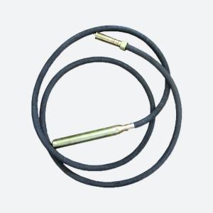 Гибкий вал (5 м) с булавой для глубинного вибратора (диаметр 48 мм)