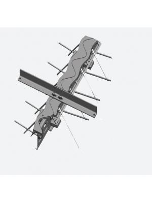Профиль деформационный ремонтный Синус ПДШ Rsin-115