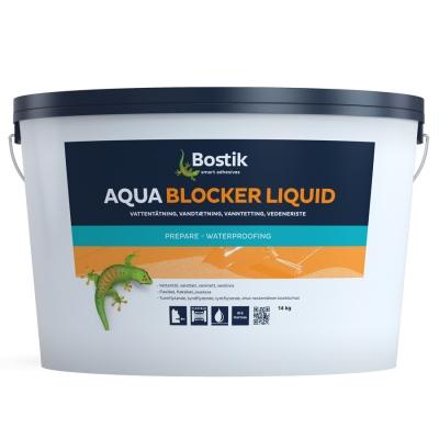 Гидроизоляция для фундамента Bostik Аqua Blocker Liquide, 14 кг