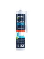 Клей герметик прозрачный Bostik Сlear Bond для металла, стекла, дерева, 0,29 л