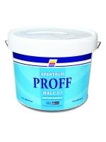Краска быстросохнущая Spektrum Proff 07 (vit) для стен и потолков, 10 л
