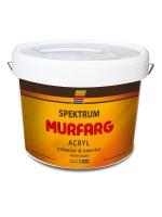 Краска фасадная для наружных работ по бетону Spektrum Murfarg (vit), 10 л