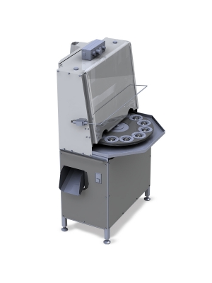 Промышленная машина для удаления косточек из сливы, абрикоса и их резки КВ-450