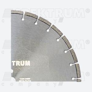 Диск алмазный отрезной SPEKTRUM - 350 для нарезания прямолинейных швов в бетонном основании