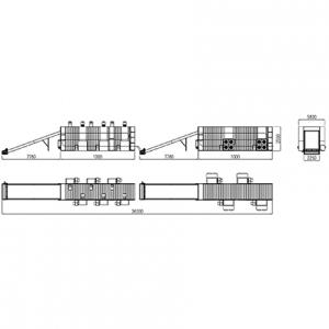 Сушильная камера закрытого типа КТУ-80К конвейерная
