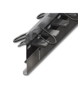 Профиль для деформационных швов раздвижной ПДШ Альфа-130-170