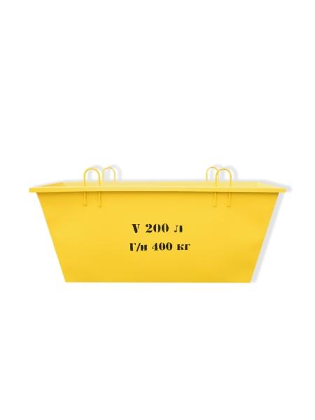 Ящик для раствора ЯК-0,2