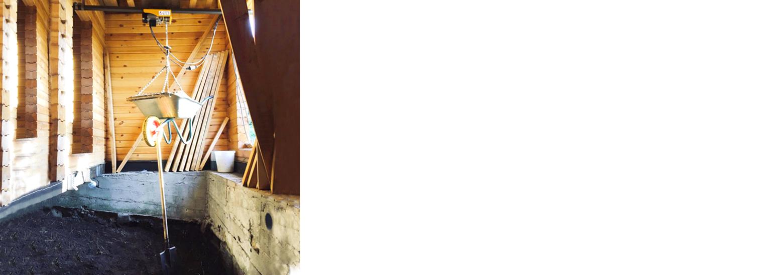 Лебедка электрическая РА-300 купить оптом у производителя Спектрум