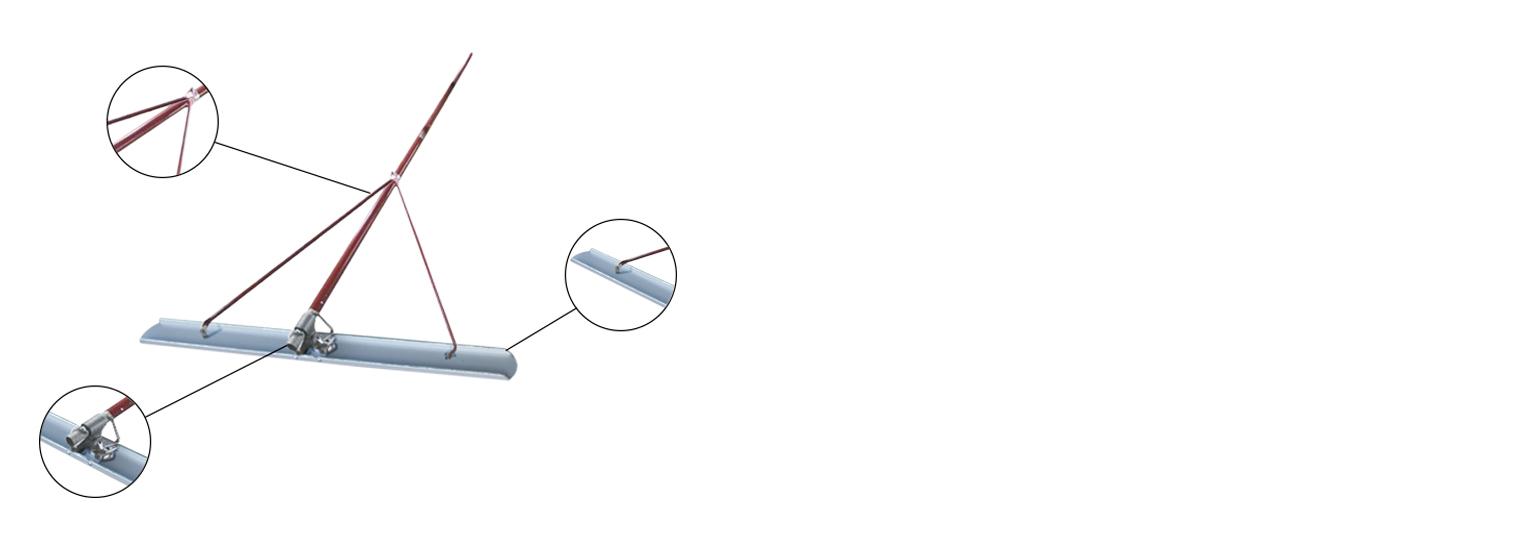 Гладилка ГК-3-К канальная 3 м на производстве Спектрум