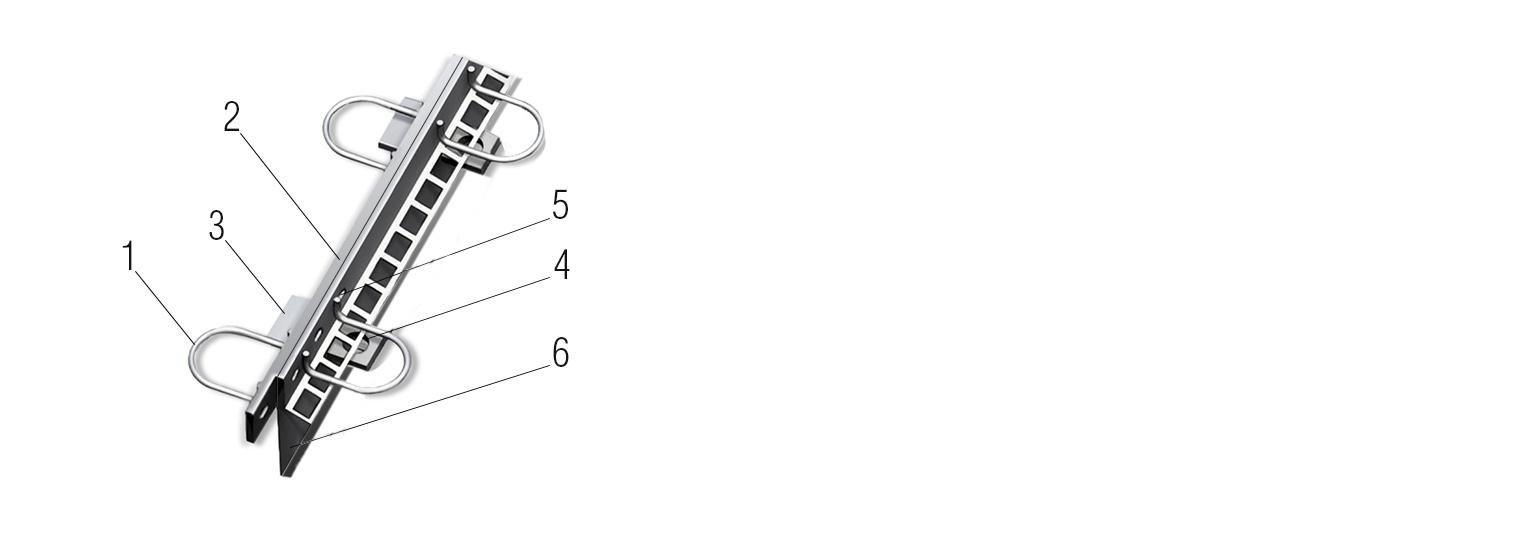 Профиль для деформационного шва ПДШ Альфа-профиль α-120 купить на производстве Спектрум