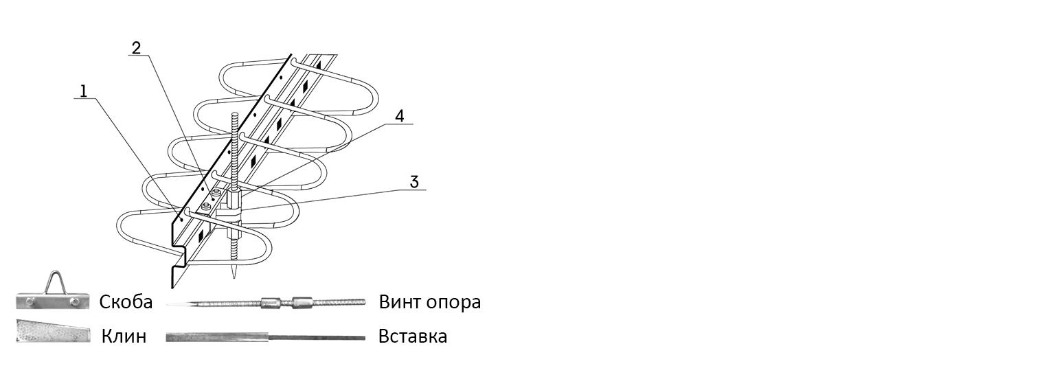 Профиль для деформационного шва ПДШ Омега-профиль Omega-168 купить на производстве Спектрум