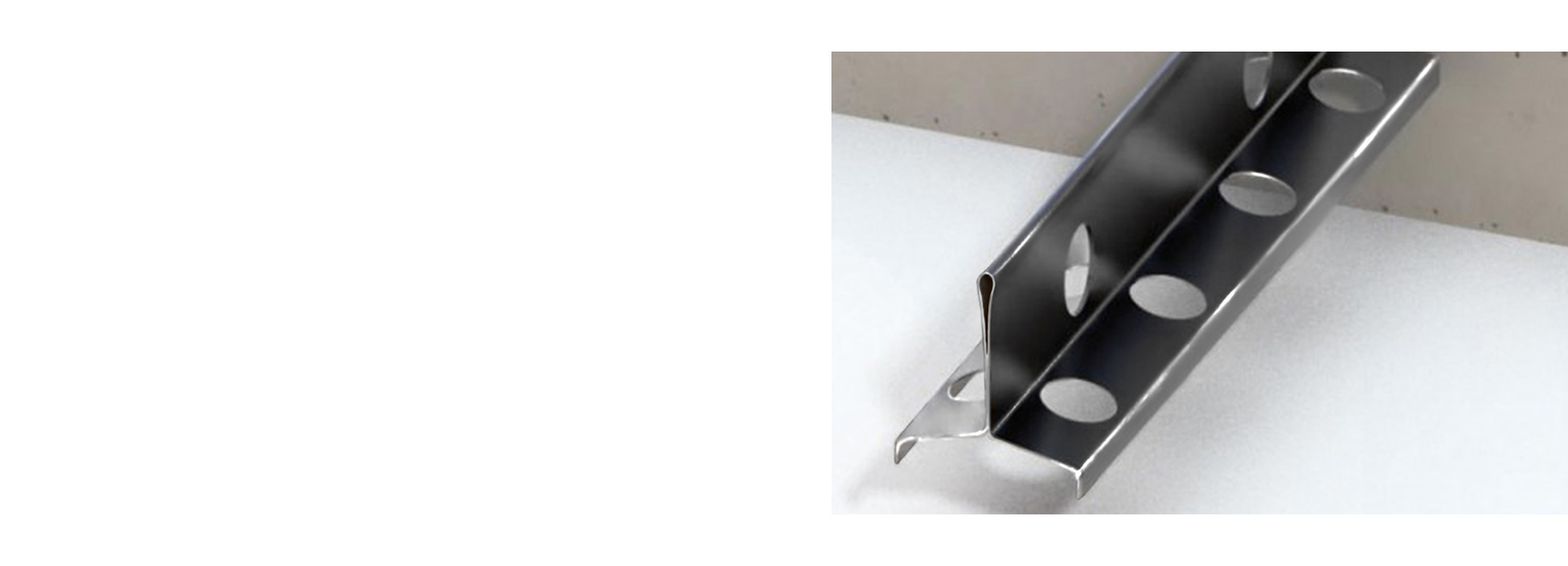 Профиль для деформационного шва ПДШ Т-профиль t-30 производство Спектрум