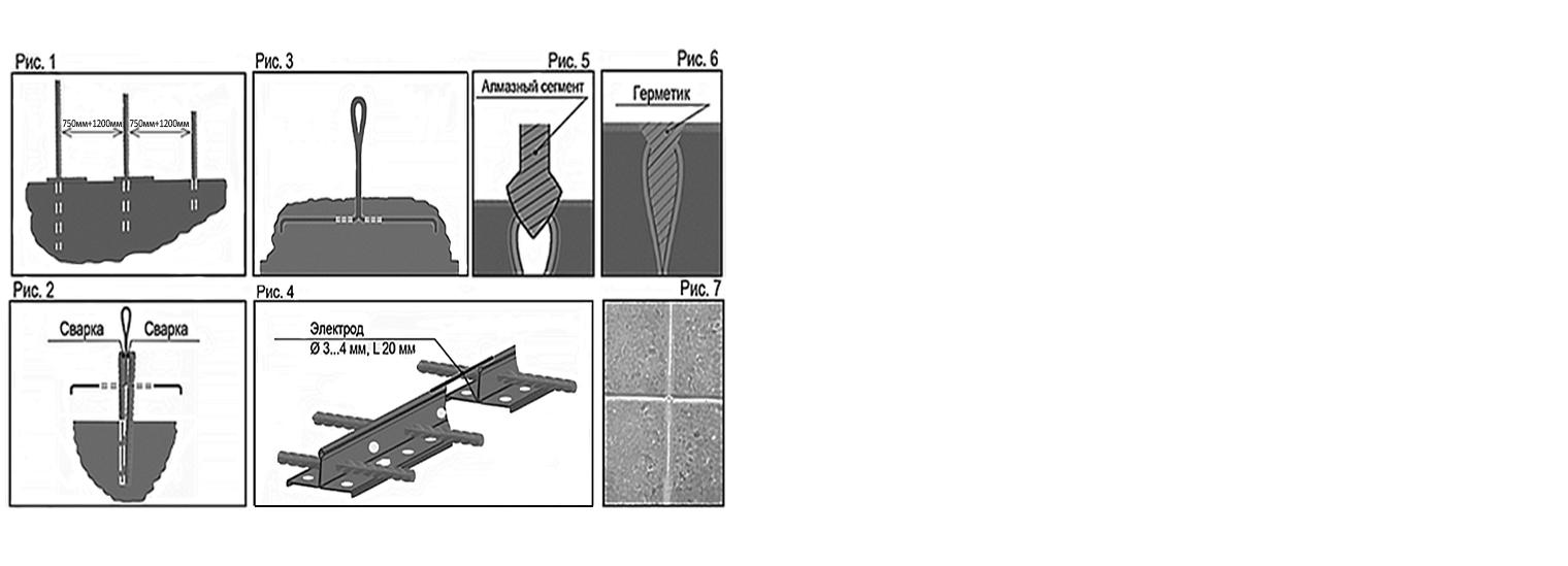 Профиль для деформационного шва ПДШ Т-профиль t-45 купить на производстве Спектрум